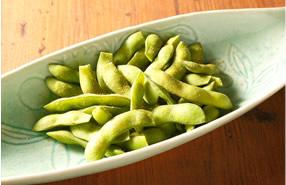 インド風味の枝豆